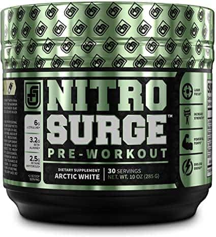 NITROSURGE Pre-Workout - Jacked Factory