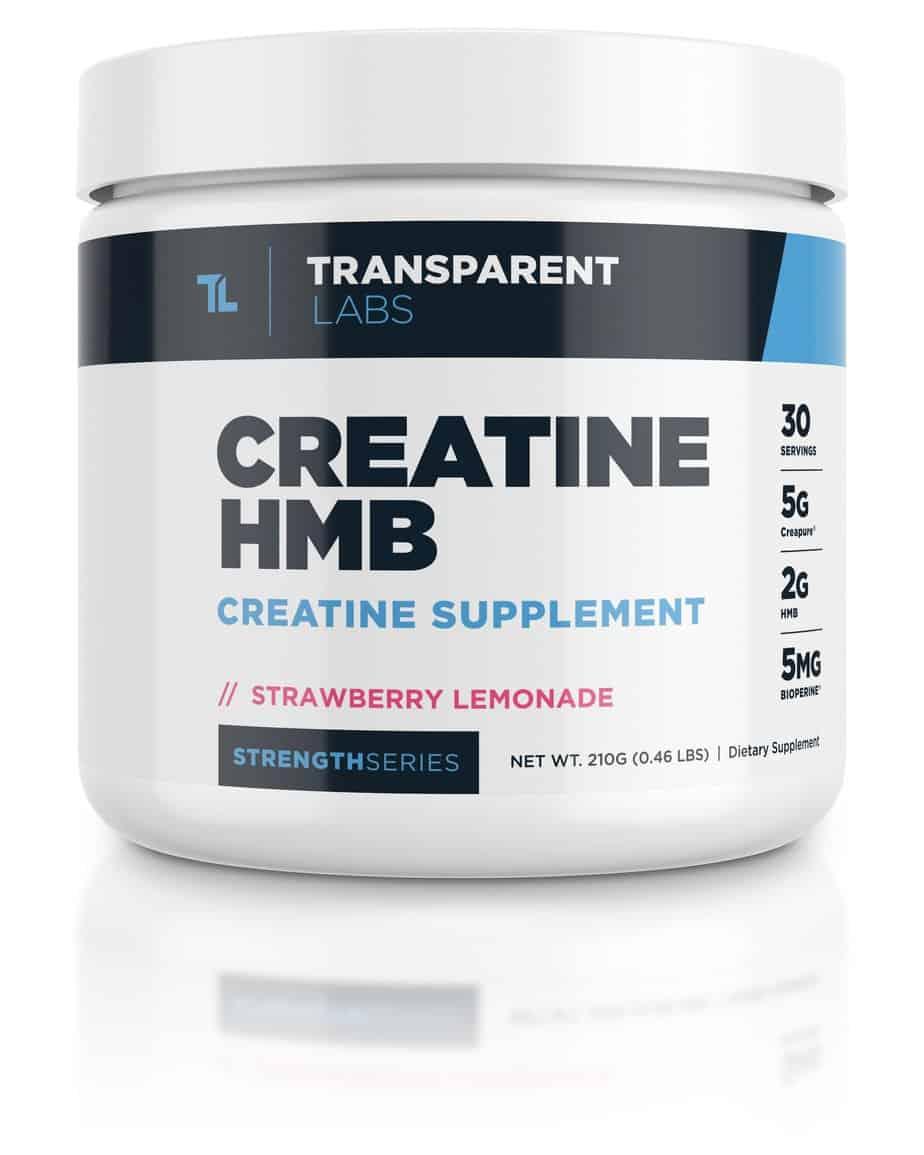 Creatine Monohydrate HMB - Transparent Labs