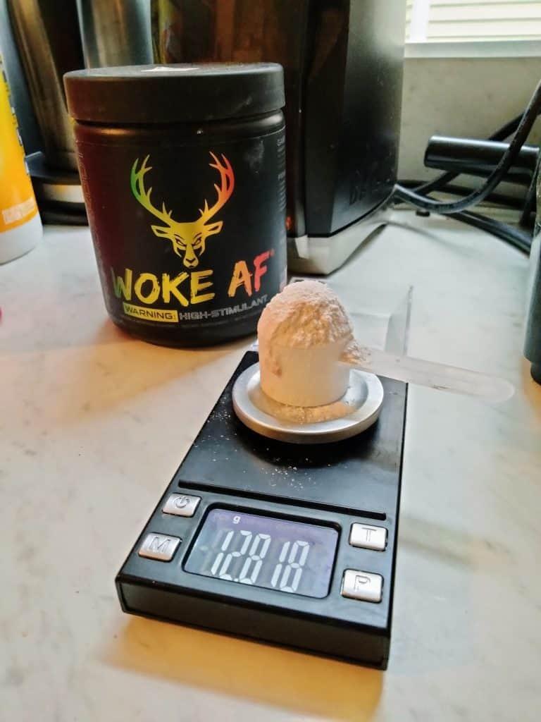 Woke AF Scoop Size