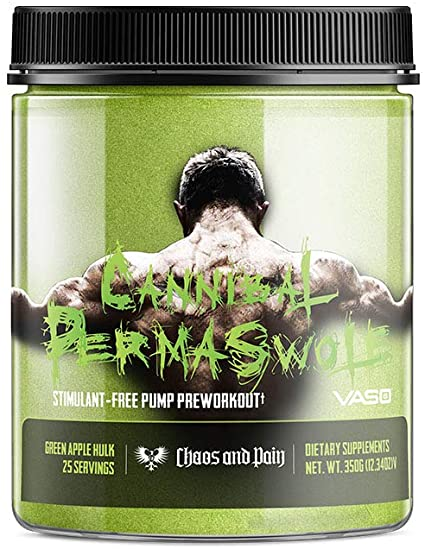 Cannibal Permaswole Pre Workout - Chaos and Pain